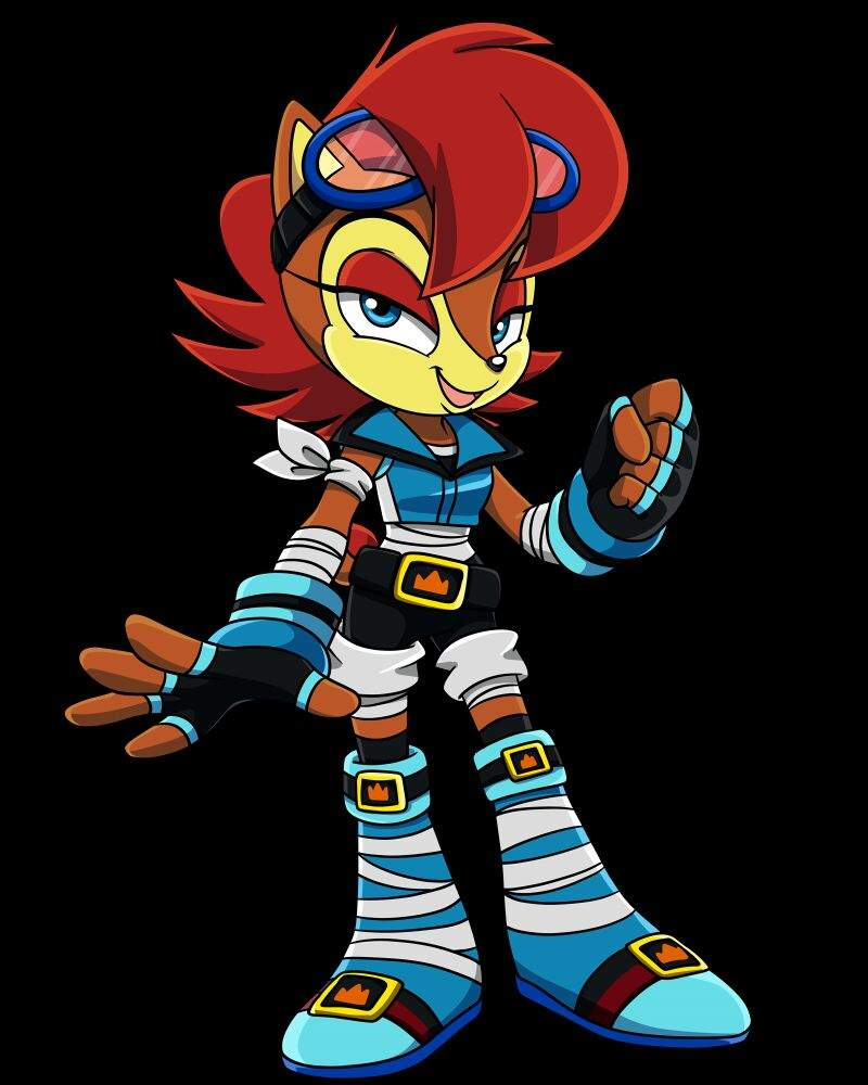 Are absolutely sonic the hedgehog sally acorn