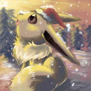 Eevee winter | Pokémon Amino