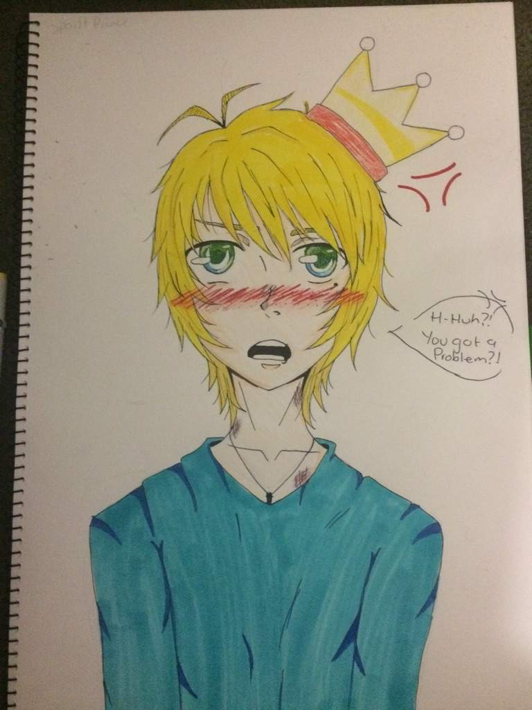 A spoilt prince drawing anime amino