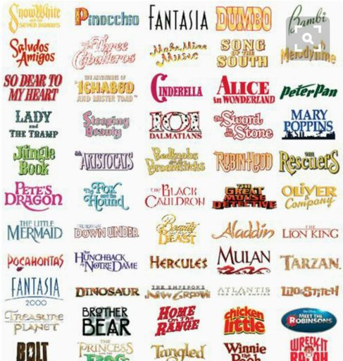 Classic Animated Movies List | Wiki | Disney Amino