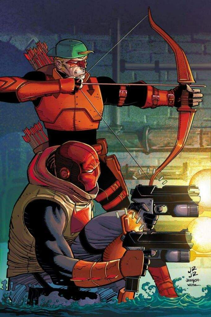red hood and red arrow
