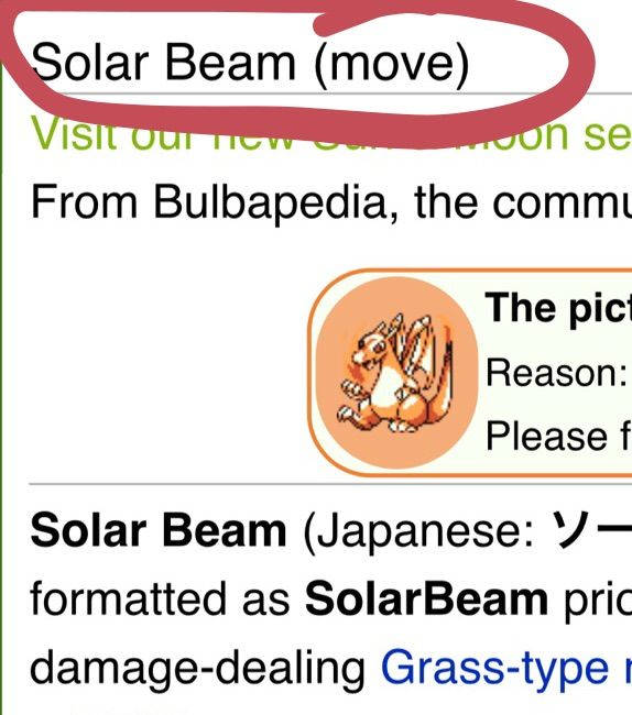 Can Charizard learn Solarbeam - answers.com