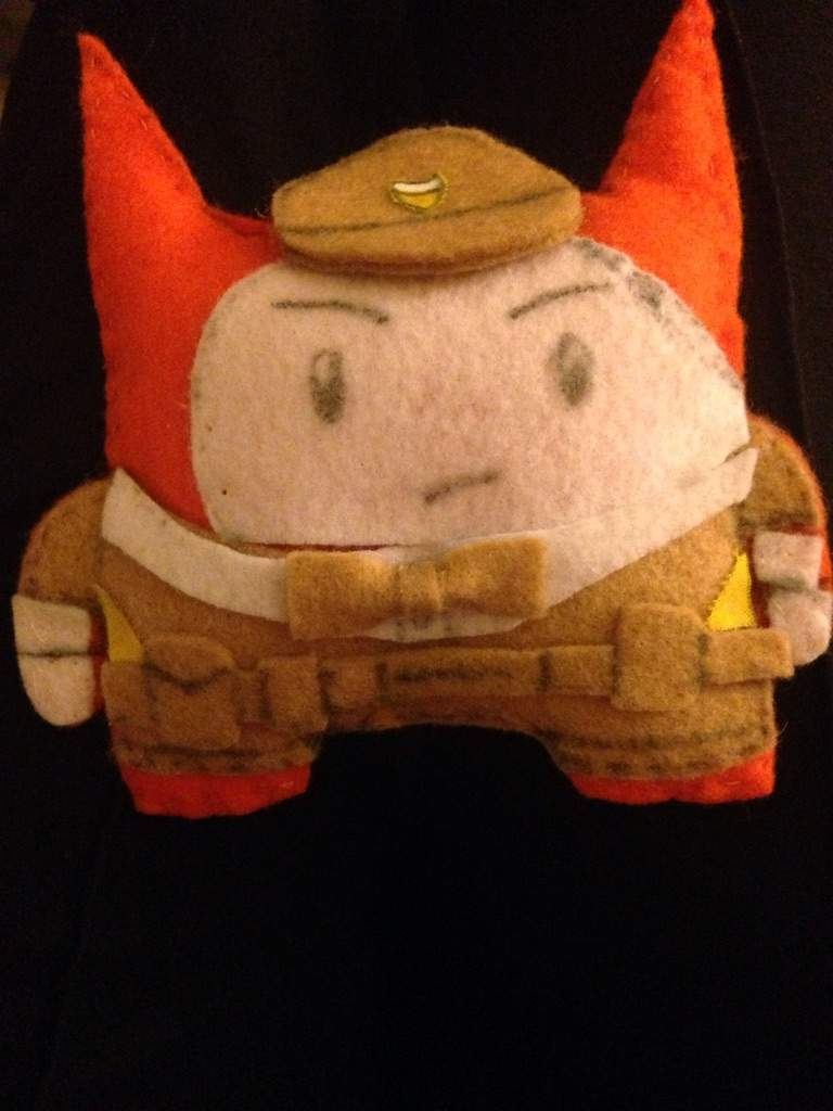 Cat guard plush behemoth games amino this is a plush i made of my battleblock theater fancharacter kevin ill tell more about him later publicscrutiny Choice Image