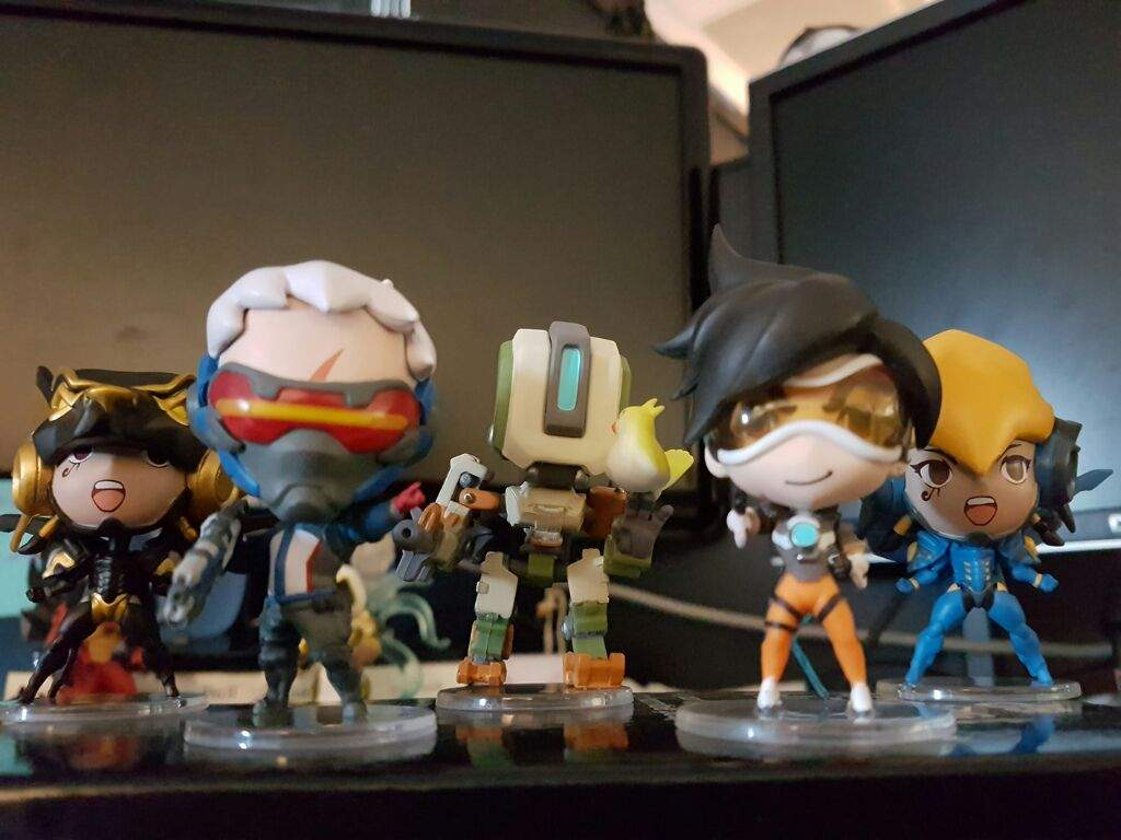 Cute But Deadly Blind Vinyls Series 2 Overwatch Amino