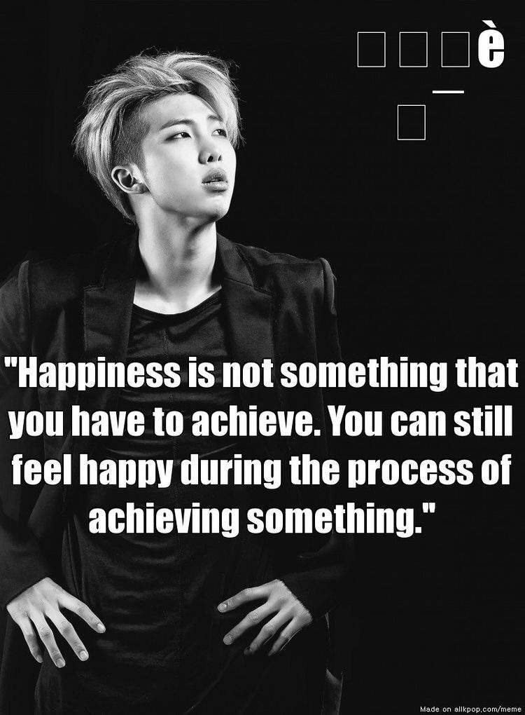 rap monster quotes army 39 s amino