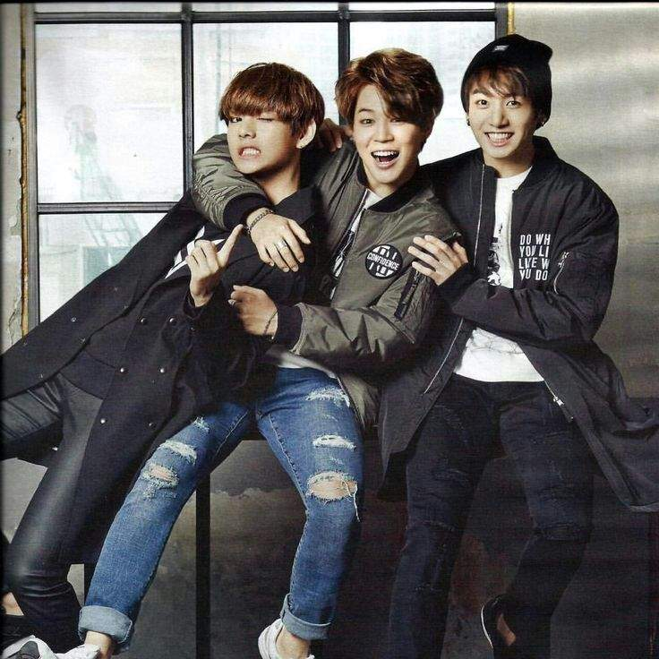 Jimin V Jungkook Wallpaper: BTS MAKNAE LINE :2013-2016