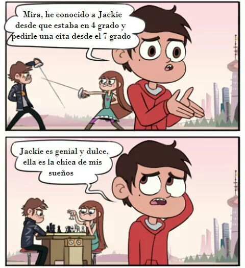 Comic : La Decisión De Marco