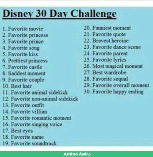 30 Days Disney Challenge Day 11