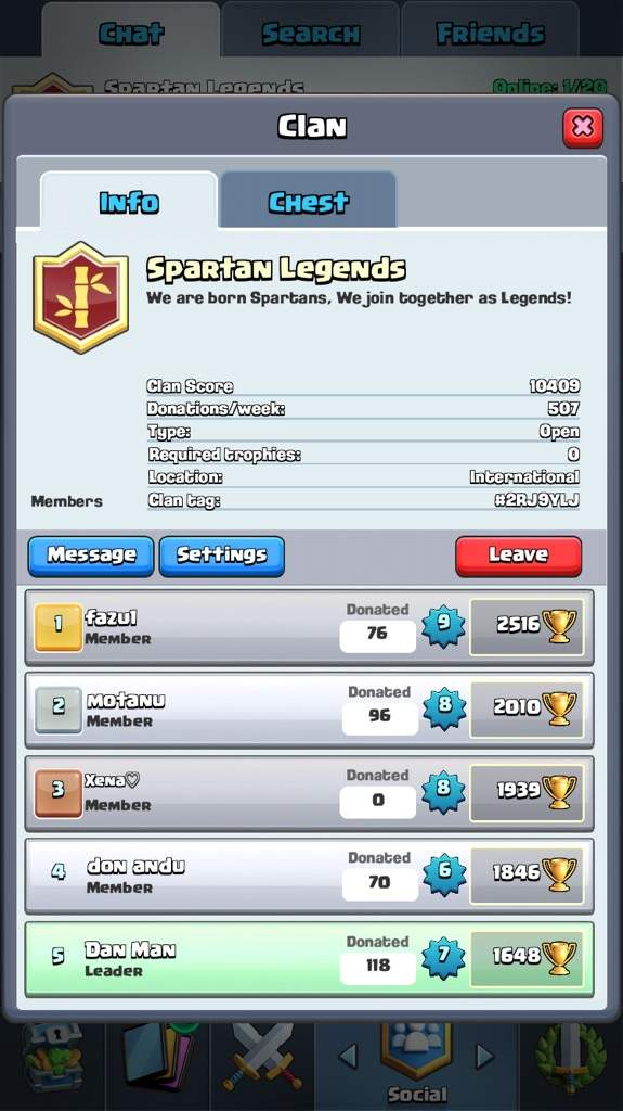 Come Join My Wonderful Clan Clash Royale Amino