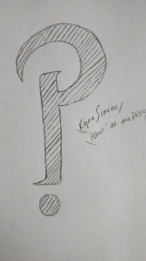 My Drawing Of The Panic At The Disco Symbol Panic At The Disco Amino