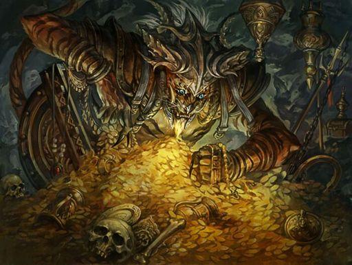 Image result for mtg art villainous wealth