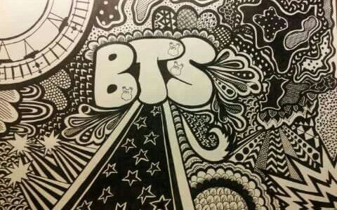 bts doodle art work army s amino