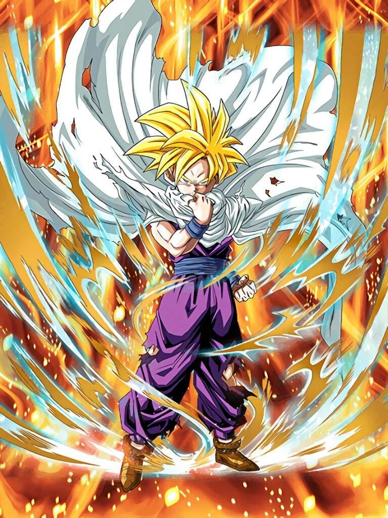 Dokkan battle anime amino - Dragon ball gohan super saiyan 4 ...