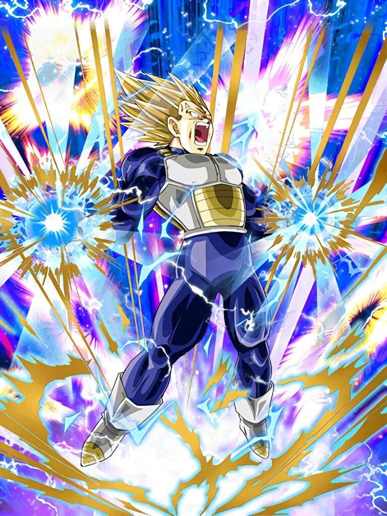 Dokkan battle anime amino - Vegeta super sayen 2 ...