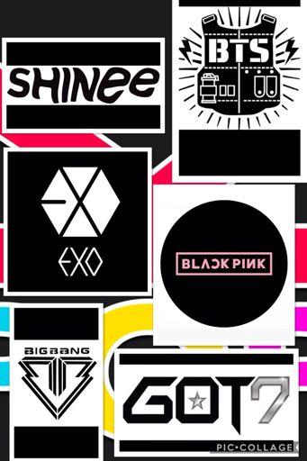 Some of my Fav Kpop logos | K-Pop Amino