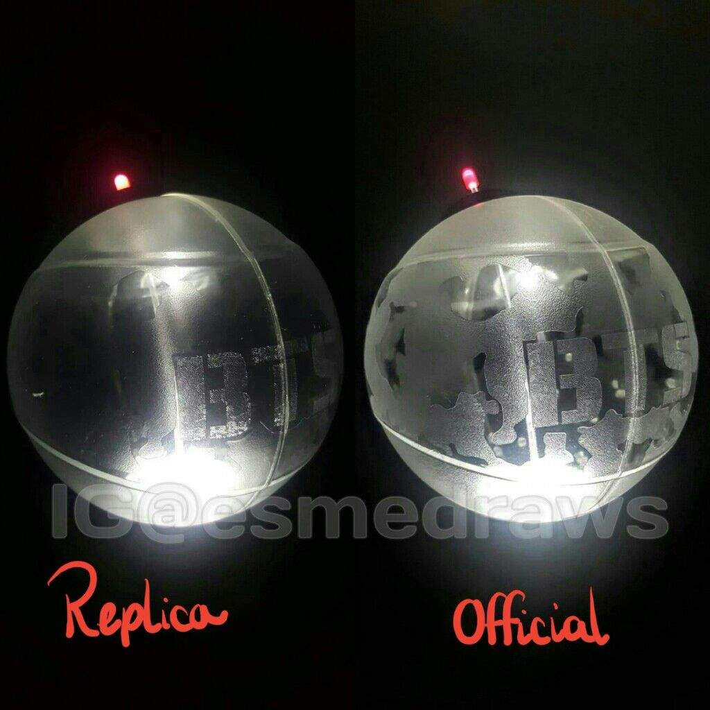Bts Army Bomb: REPLICA VS OFFICIAL BTS ARMY BOMB