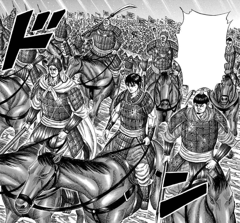 Kingdom Manga Coalition Arc: Hi Shin Unit/Fei Xin Force
