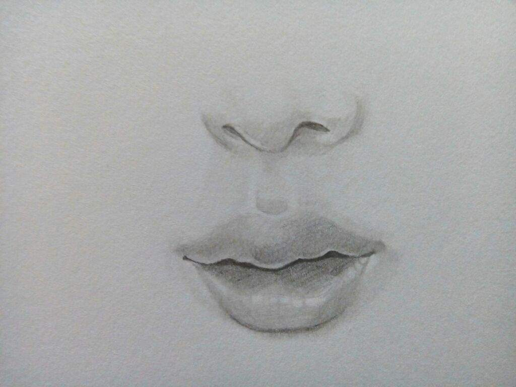 how to draw plump lips