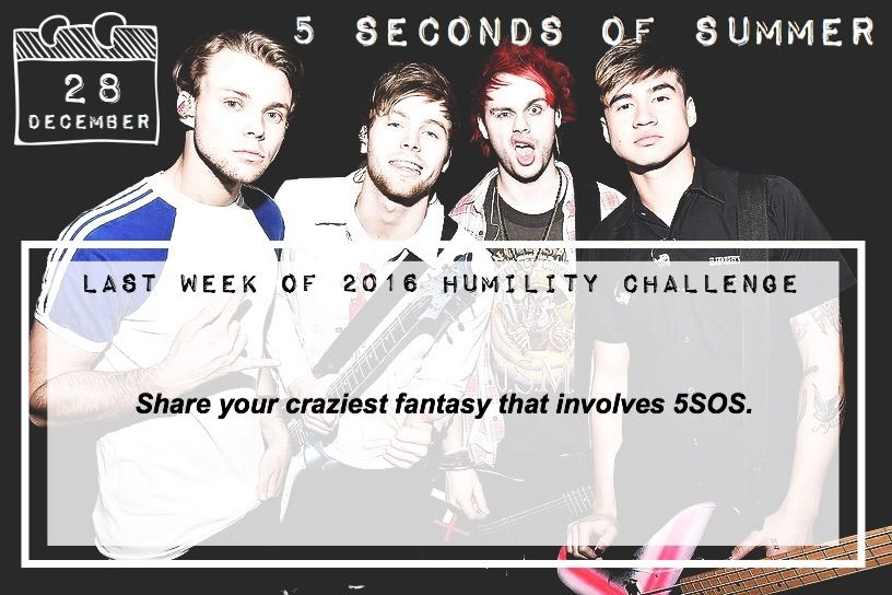 DAY FOUR ✨ | 5SOSFAM Amino