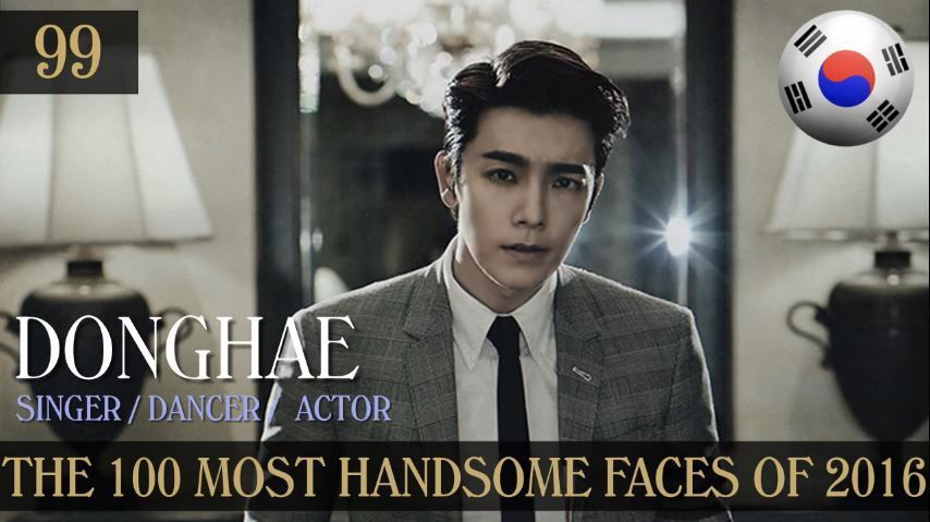 100 handsome faces 2016 kpop