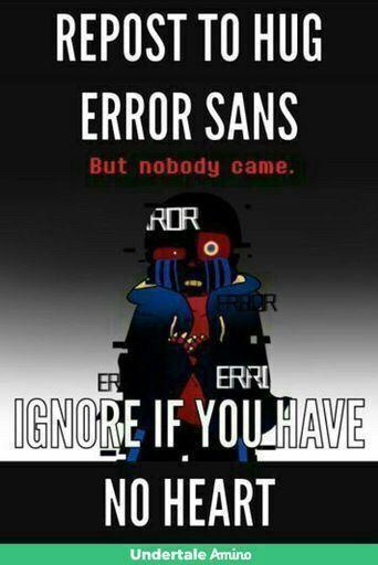 Just do hug error! Plz | Undertale Amino