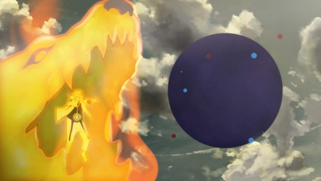 Bijuu Mode Naruto - Tailed Beast Ball | Bijūdama | Tailed ...