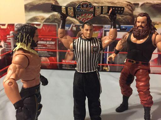 Braun strowman vs seth rollins united states championship wrestling amino - Braun strowman theme ...