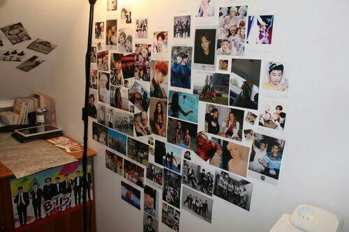 Como puedo decorar mi habitaci n sin gastar dinero for Dormitorio kpop