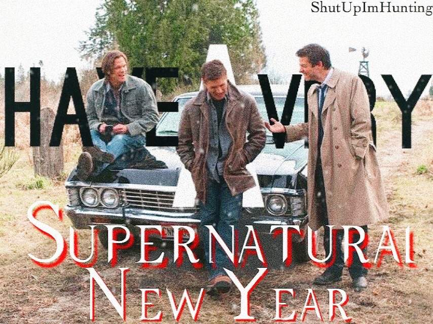 Happy New Year Supernatural Amino