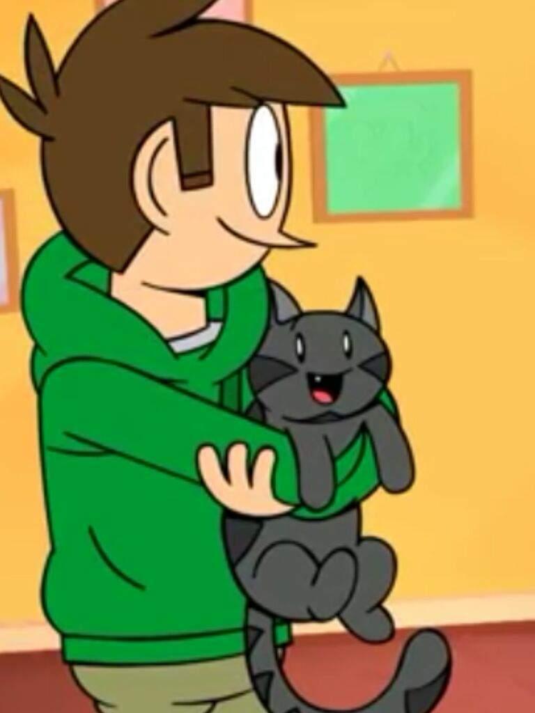 Cat Girl In Boy S Lap
