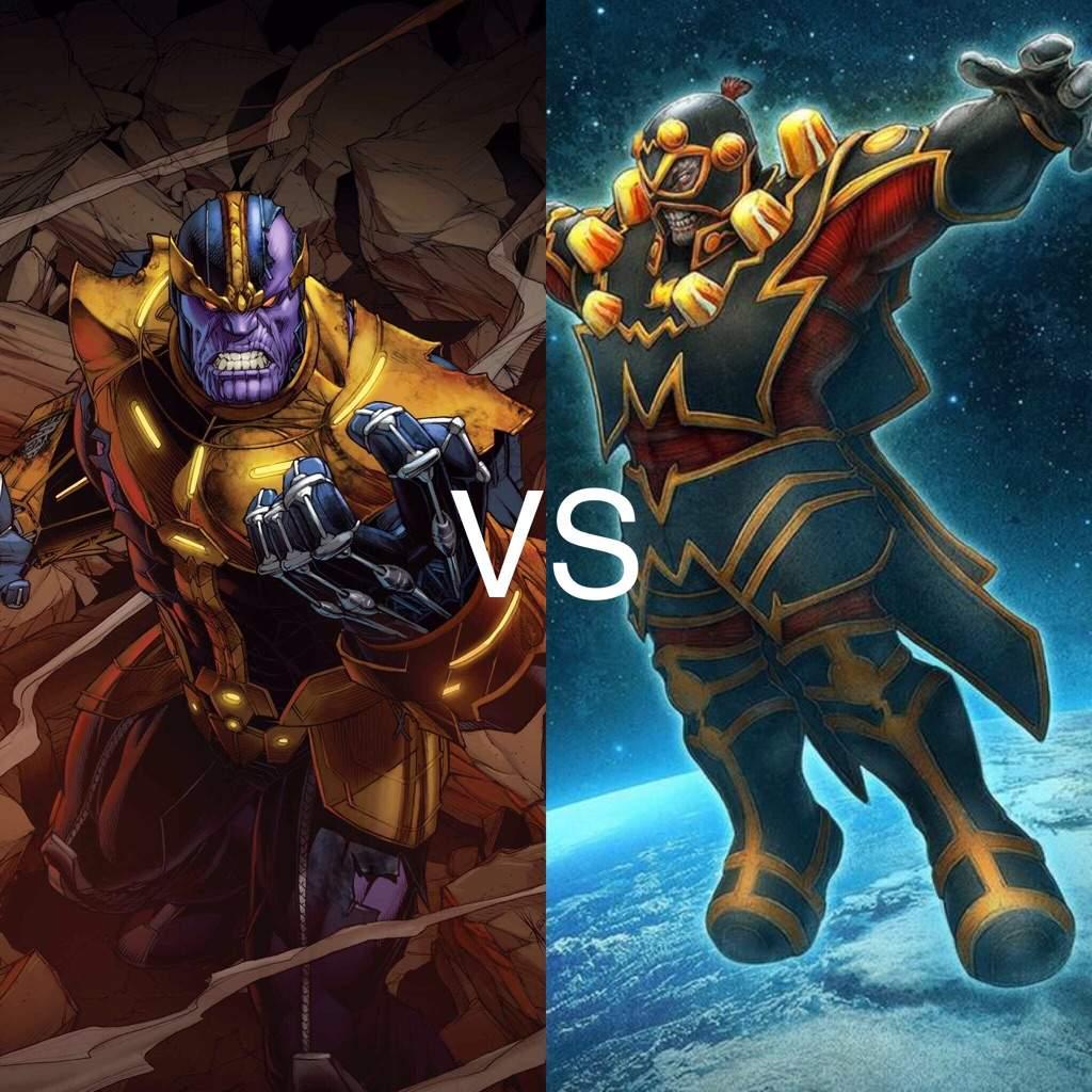 Thanos vs doomsday