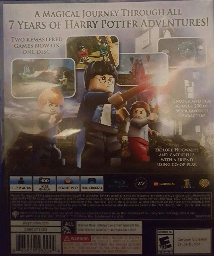 Lego Harry Potter Collection (PS4 Exclusive) | Harry Potter Amino