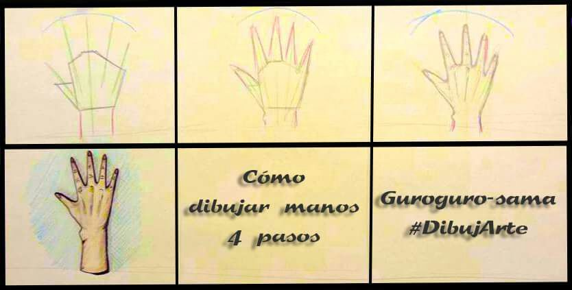 Mini blog Cmo dibujar manos FCIL   DibujArte Amino