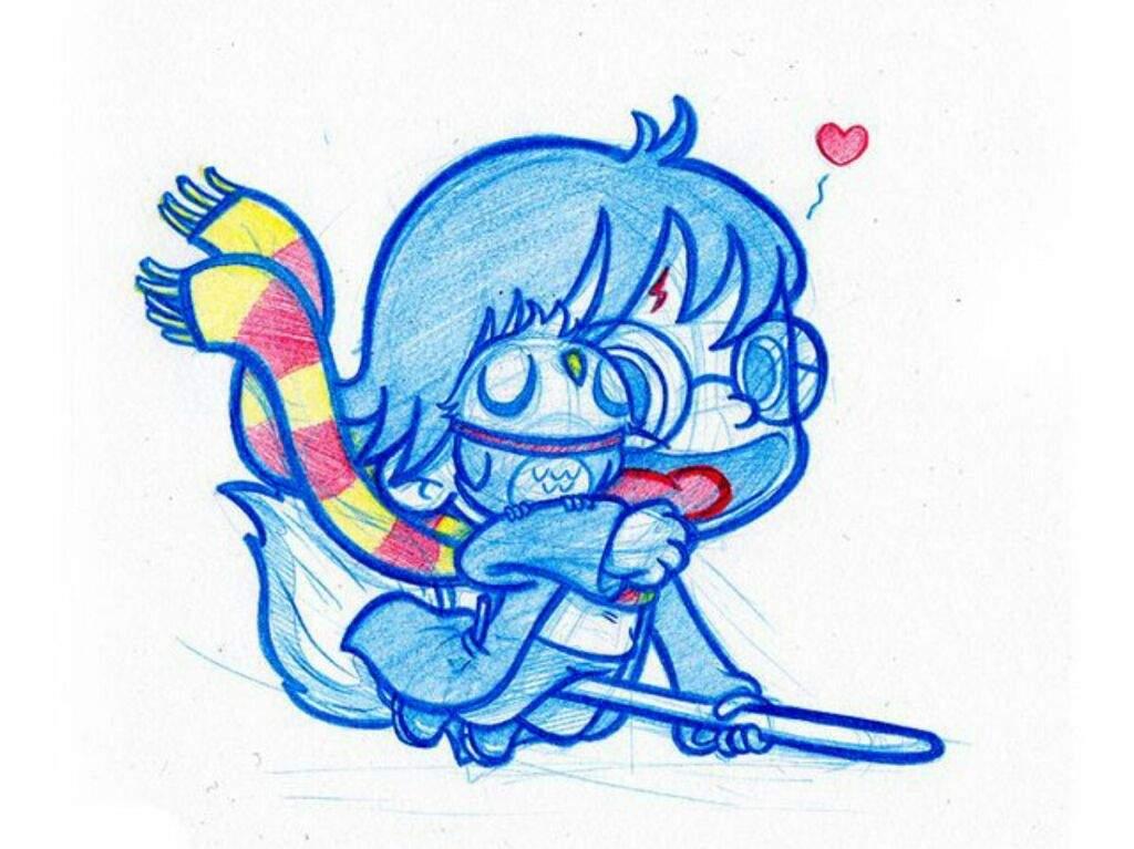 Dibujos Para Colorear Harry Potter: Las Mejores Versiones De Harry Potter (dibujo)