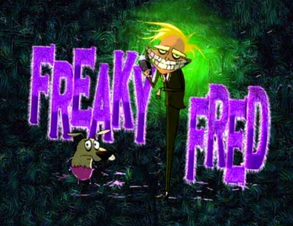 Freaky Fred is a episode, based on the penny dreadful Sweeny todd. If any  one is unfamiliar with Sweeny Todd, the story is about a barber who kills  people.