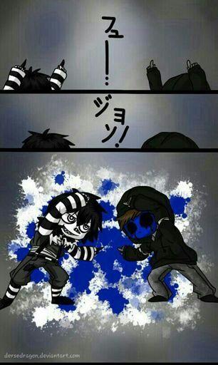 Laughing Jack And Eyeless Fusion