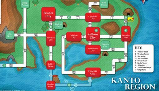 Mapa Fire Red Pokemon Amino Em Portugues Amino