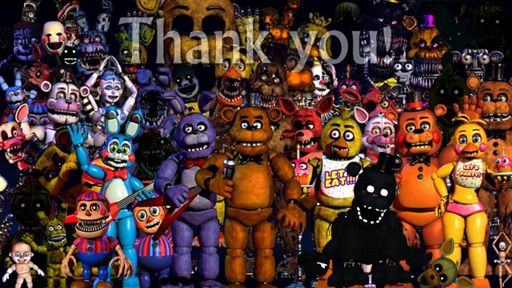 Todos Os Animatronics Five Nights At Freddys Pt Br Amino