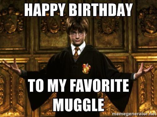Funny Harry Potter Birthday Meme : Harry potter happy birthday my