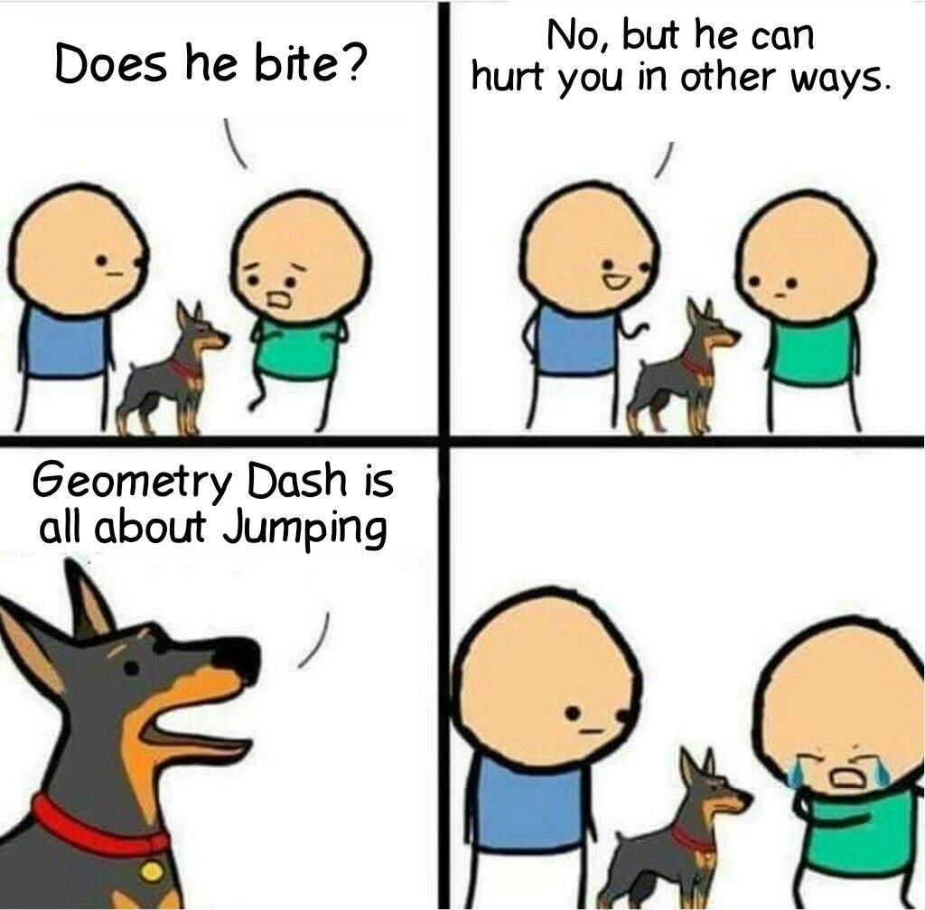 b3864c28be4875245bd7aa3c3ab08602282f45ce_hq some gd memes geometry dash amino,Geometry Memes
