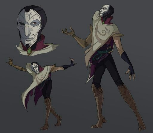 Jhin's Profile - The Mind of the Virtuoso | League Of Legends -- Official Amino