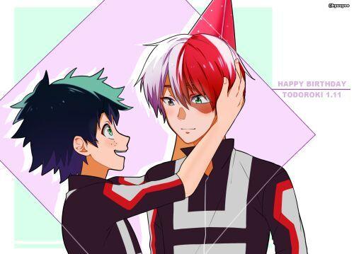 Happy Birthday Todoroki Shouto | Anime Amino