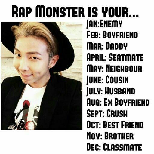 BTS Birth Month Game😁😁