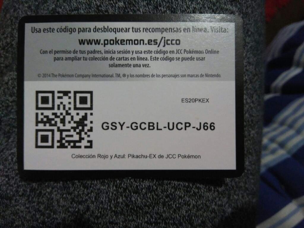 Codigo pokemon regalo
