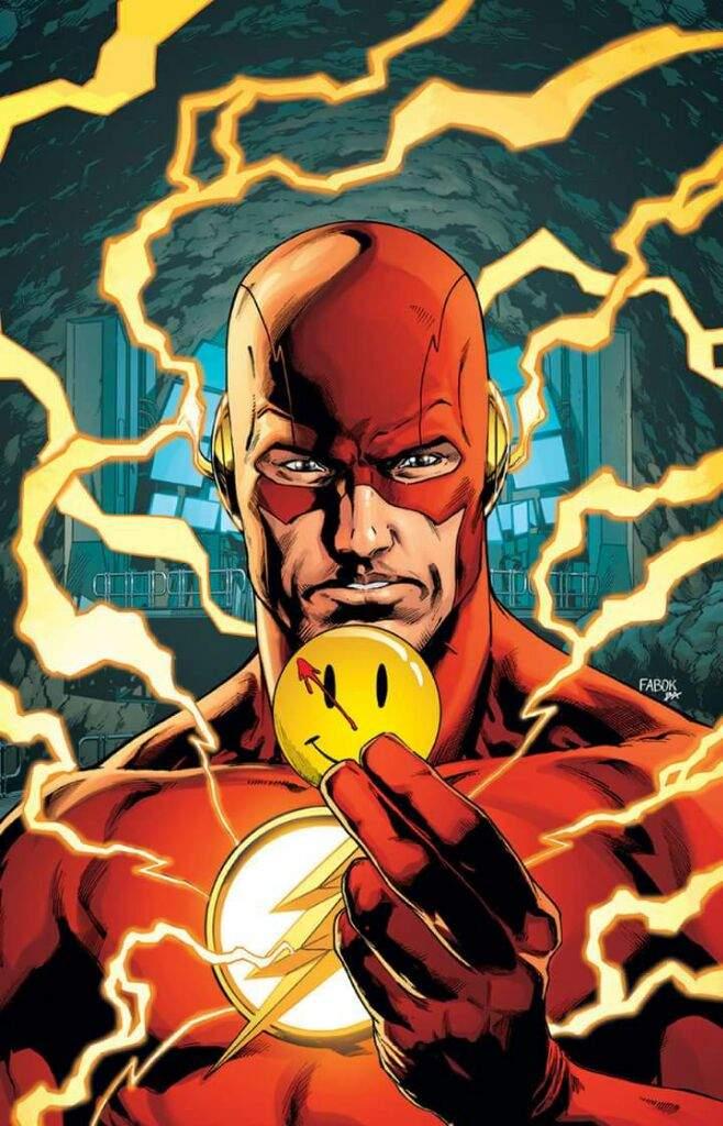 The Button -Nuevo evento de DC cómics EPIC CROSSOVER