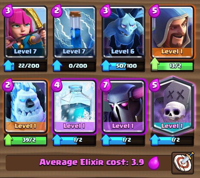 Pekka deck clash royale amino for Deck pekka arene 7