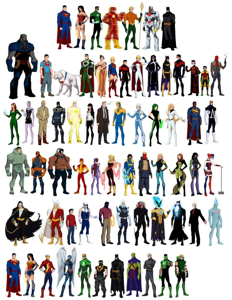 My Top 5 Ideas for Young Justice Season 3   Comics Amino Young Justice Season 3 Characters List