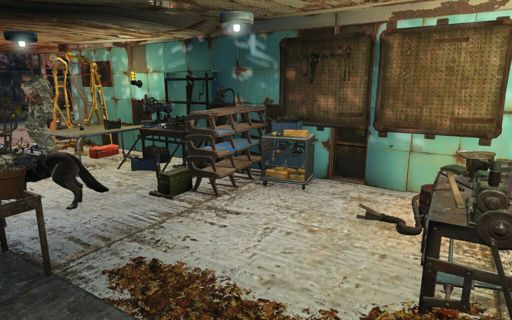 fallout 4 basement in sanctuary