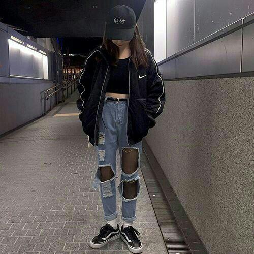 Ulzzang (bad girl version ) fashion