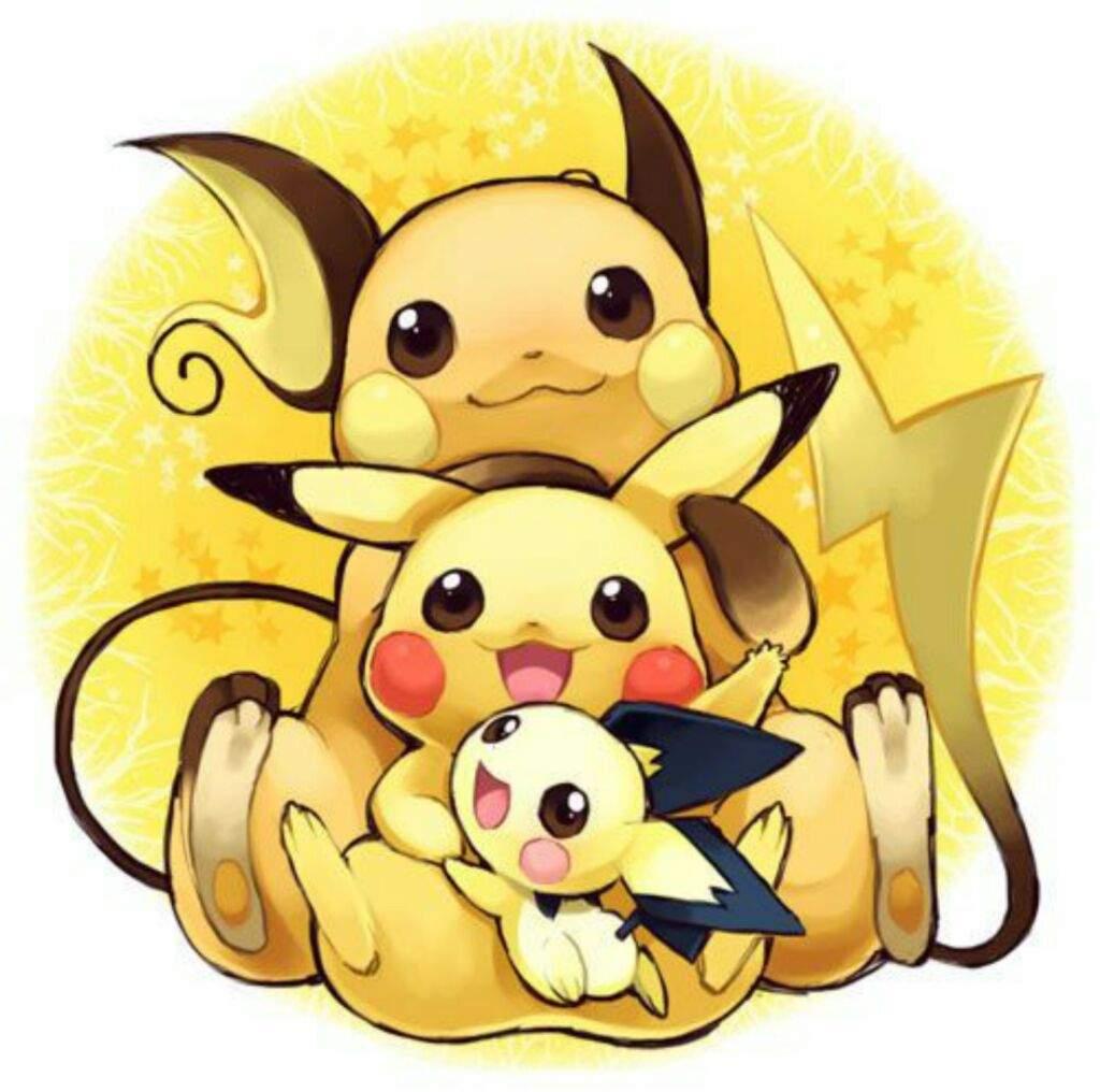 Pikachu & Marill Evolution Line Similarities | Pokémon AminoPichu Pikachu Raichu